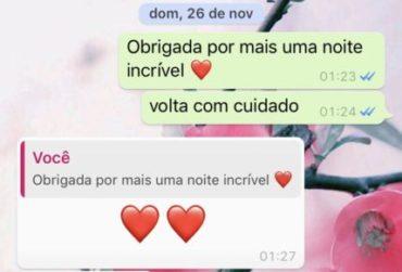 WhatsApp Mensagem do Secreto