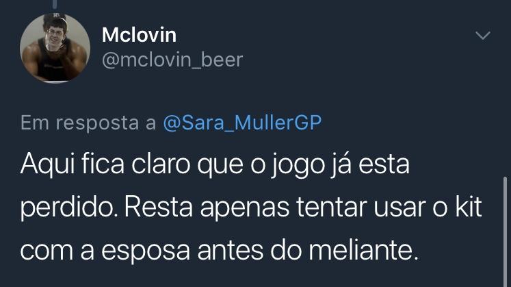 Print Resposta Enquete Twitter @mclovin_beer Mclovin