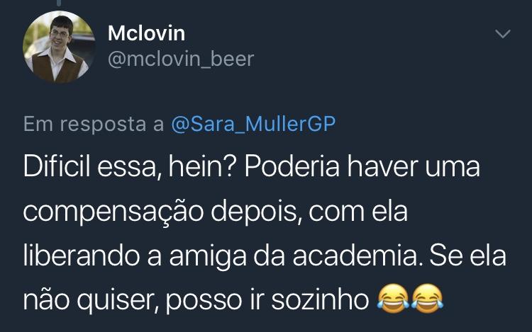 Resposta Enquete Sara Müller @mclovin_beer