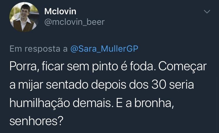 Resposta Enquete Twitter Sara Müller @mclovin_beer