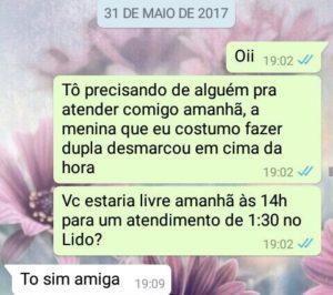 WhatsApp Caricioso, Sara Müller e Agatha Galucci