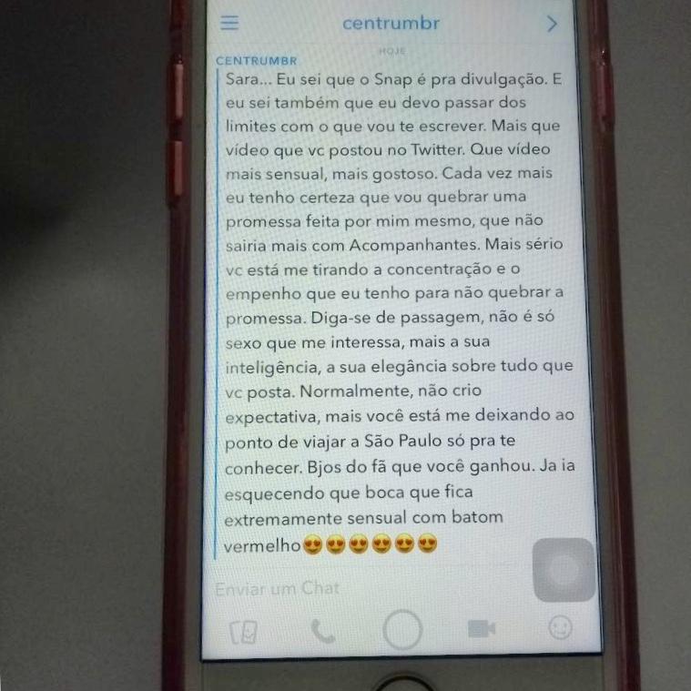 Snapchat Seguidor Anônimo
