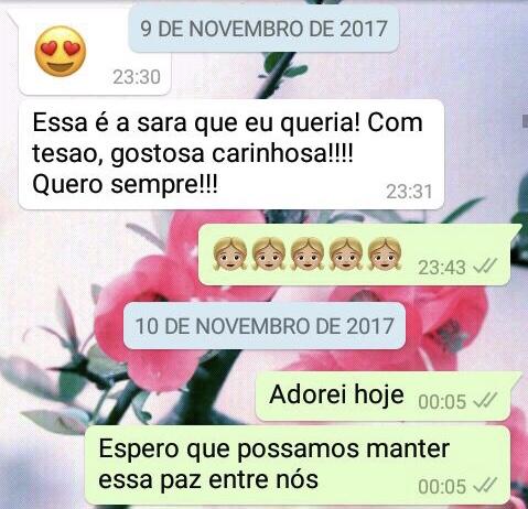 WhatsApp Sara Müller e Personal Gineco