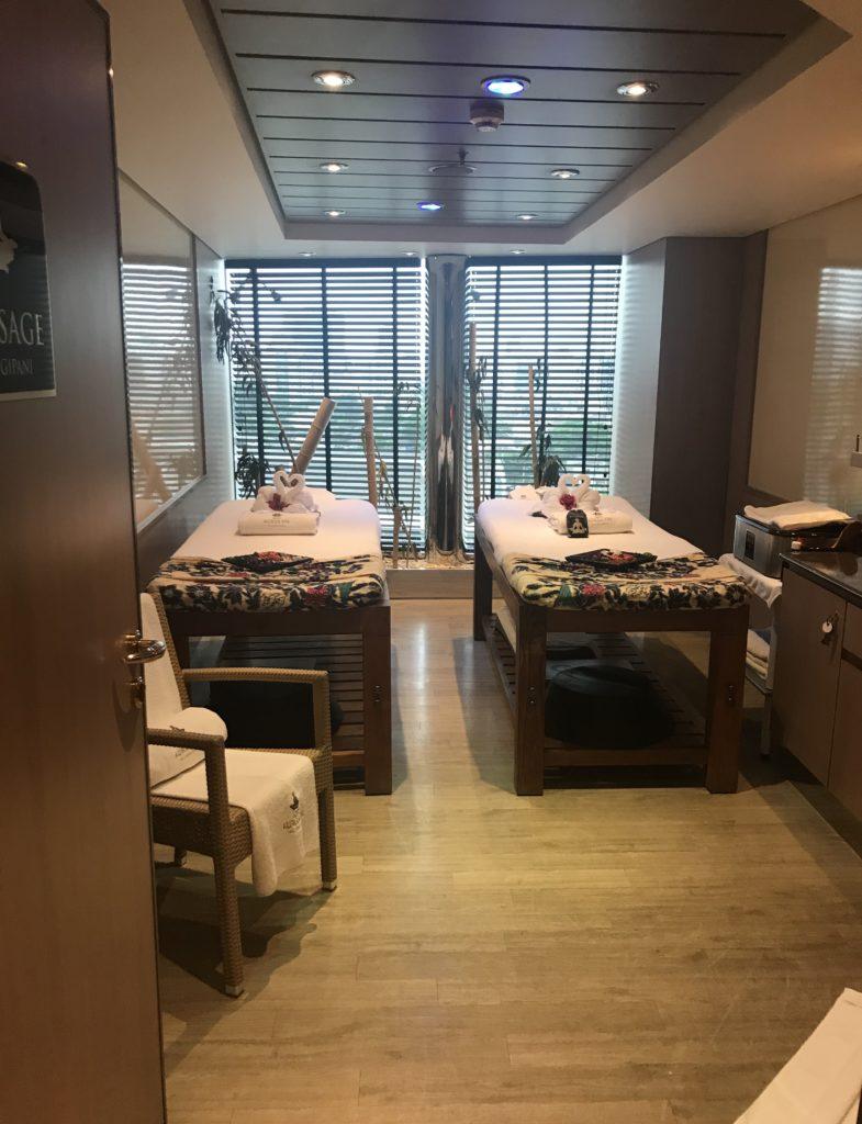 SPA Sala de Massagem MSC Magnífica Cruzeiro Organizado