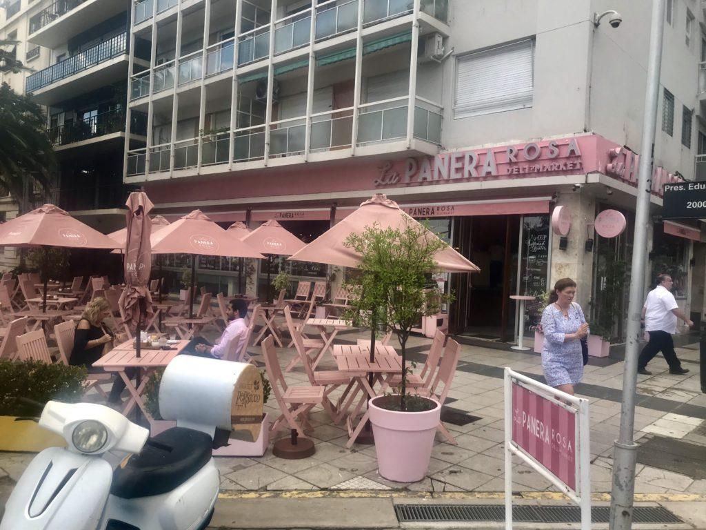 La Panera Lanchonete Cor-de-rosa Buenos Aires Cruzeiro Organizado