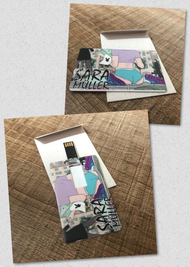 Presente Fofo Pen Drive E-book