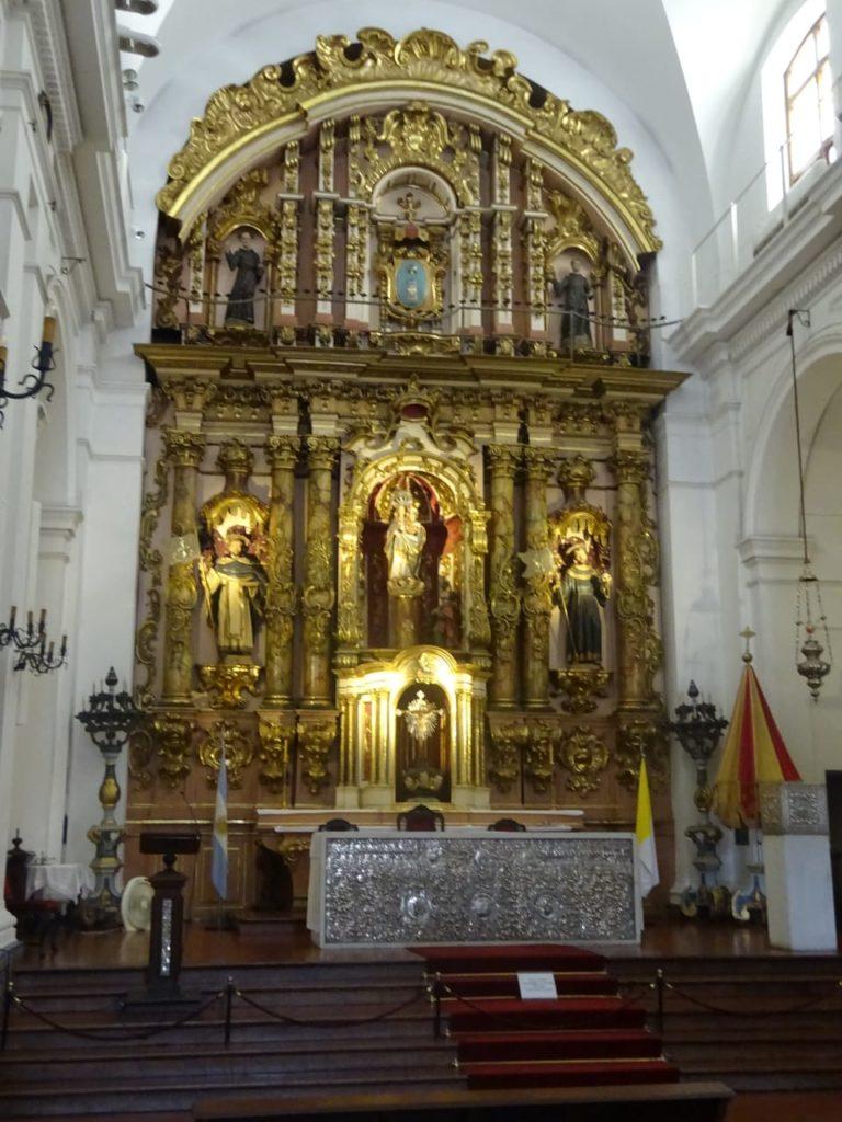 Templo Nossa Senhora del Pilar Buenos Aires Cruzeiro Organizado