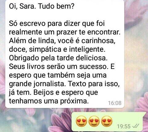 WhatsApp Sara Müller e o Simples