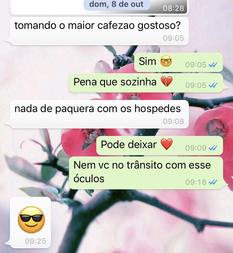 WhatsApp Sara Müller e Secreto