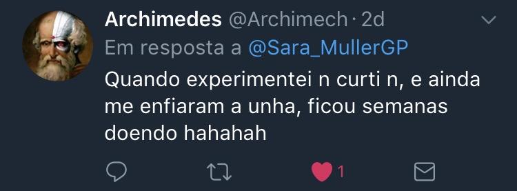 Resposta Enquete Sara Müller @Archimech