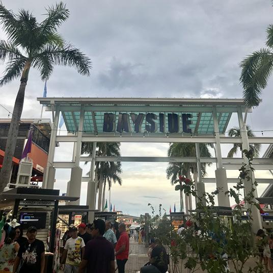 Terceiro dia em Miami - Parte 2 - Bayside