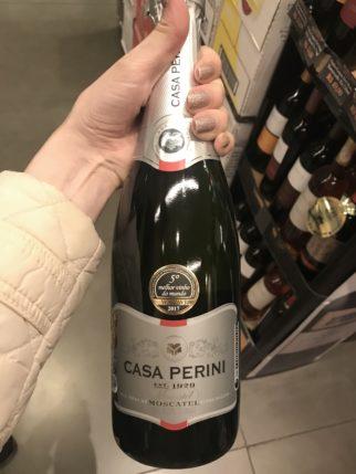 Vinho Moscatel CASA PERINI