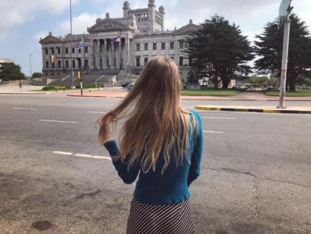 Sara Müller Palácio Legislativo Montevidéu Cruzeiro Organizado
