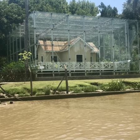 Casa Cercado de Vidro Estação Fluvial de Tigre Cruzeiro Organizado
